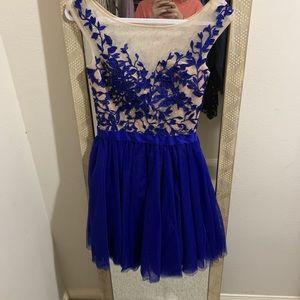 Royal blue Sherri hill dress